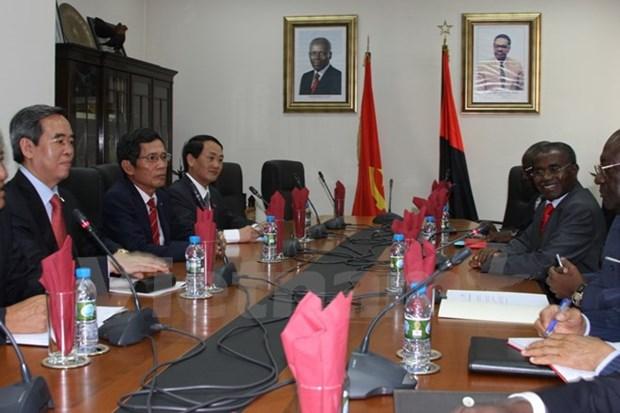 Le Vietnam et l'Angola stimulent la cooperation economique hinh anh 1