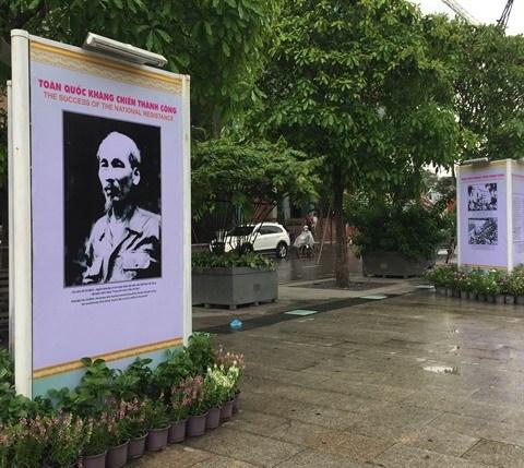 Expo «Tradition heroique de l'Armee et du peuple vietnamien» hinh anh 1