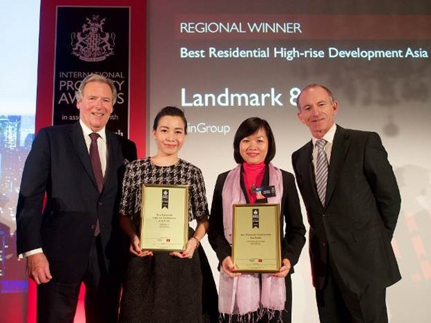 Immobilier: Vingroup remporte un premier prix international hinh anh 1