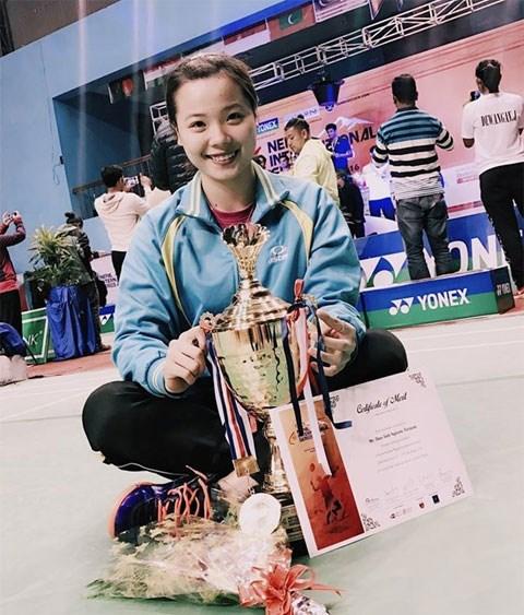 Badminton: une Vietnamienne remporte un tournoi international au Nepal hinh anh 1
