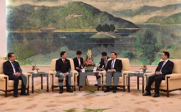 Vietnam et Chine renforcent la cooperation entre leurs organes legislatifs hinh anh 1