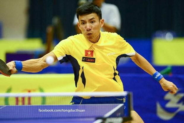 Tennis de table: l'equipe masculine du Vietnam devient championne d'Asie du Sud-Est hinh anh 1