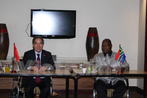 Une delegation du PCV en visite en Afrique du Sud hinh anh 1