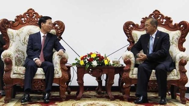 Vietnam-Laos : intensifier la cooperation dans le travail de propagande et d'education hinh anh 1