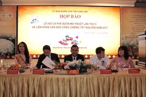 La Fete du cafe de Buon Ma Thuot et le festival de la culture des gongs du Tay Nguyen en mars 2017 hinh anh 1