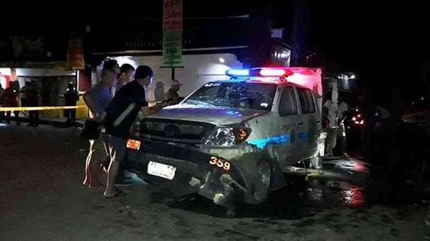 Philippines : 12 blesses dans une explosion pres d'une eglise hinh anh 1