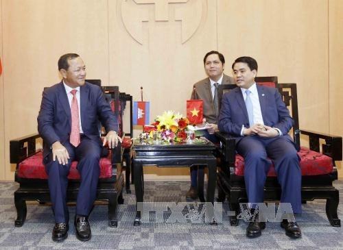 Hanoi et Phnom Penh renforcent leur cooperation hinh anh 1