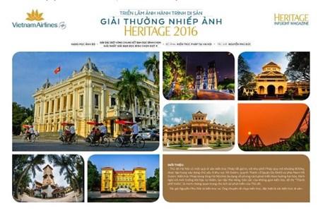 Exposition et remise du prix Heritage - Parcours du patrimoine 2016 hinh anh 1