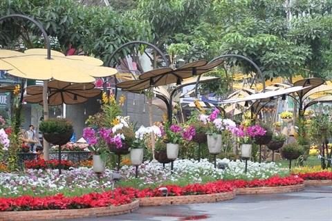 Tet : fetes des fleurs a Ho Chi Minh-Ville hinh anh 1
