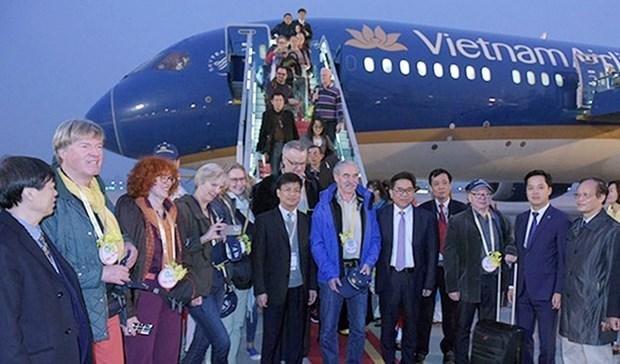 Hanoi accueille plus de 206.000 touristes pour le Nouvel An 2017 hinh anh 1