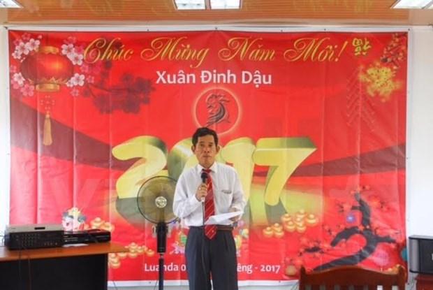 Les Vietnamiens en Angola fetent le Nouvel an hinh anh 1