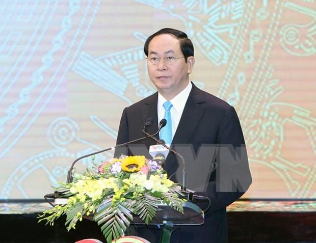 Le chef de l'Etat demande a l'Institut de la defense de valoriser son role hinh anh 1