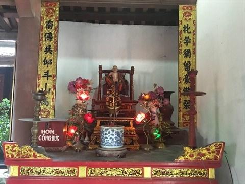 Sculpture sur bois, l'ADN du village de Bao Ha hinh anh 1