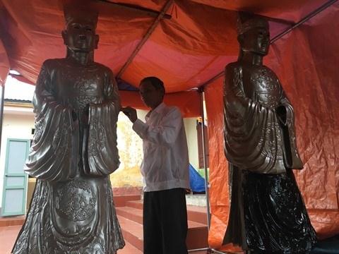 Sculpture sur bois, l'ADN du village de Bao Ha hinh anh 3