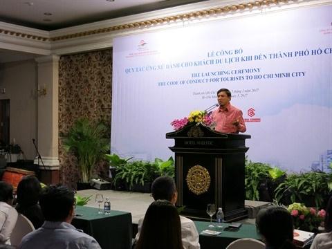 Un code de conduite pour les touristes a Ho Chi Minh-Ville hinh anh 1