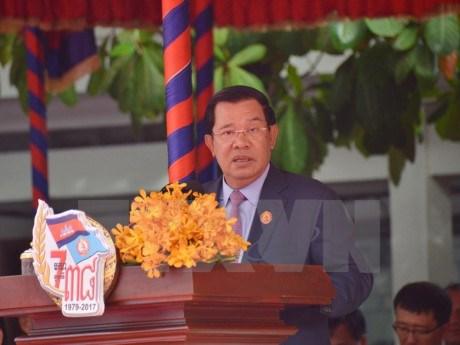 Les 38 ans de la victoire sur les Khmers Rouges celebres au Cambodge hinh anh 1