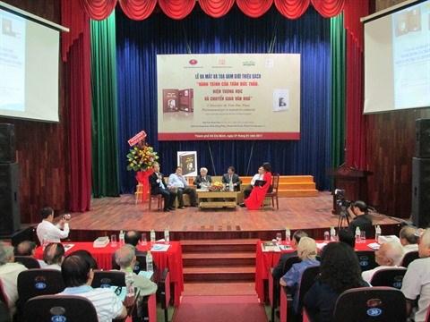 Parution d'un ouvrage consacre au philosophe Tran Duc Thao hinh anh 2