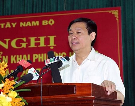 Nam Bo Occidental : 6,9% de croissance en 2016 hinh anh 1