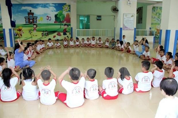 Dak Lak generalise l'education prescolaire pour les enfants de cinq ans hinh anh 1