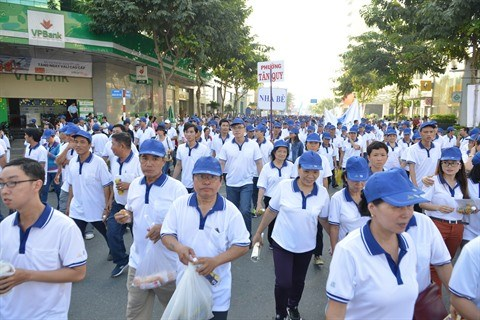Marche philanthropique Lawrence S.Ting a Ho Chi Minh-Ville hinh anh 1