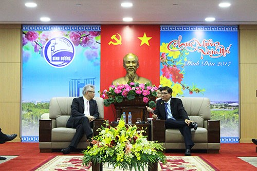 Les entreprises americaines evaluent les opportunites d'investissement a Binh Duong hinh anh 1