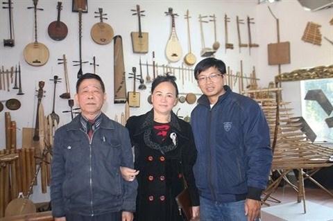 Ba Pho, le salon de la musique traditionnelle a Phu Tho hinh anh 1