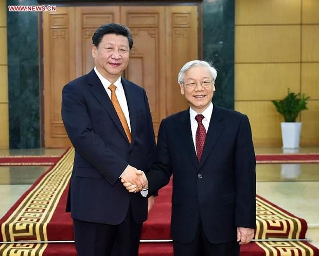 La visite en Chine du secretaire general du PCV a une signification tres importante hinh anh 1