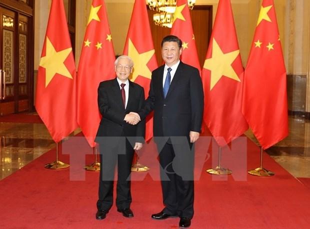 Nguyen Phu Trong acheve avec succes sa visite officielle en Chine hinh anh 1