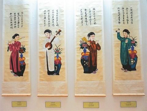 Imagerie populaire, temoignage de la richesse culturelle vietnamienne hinh anh 1