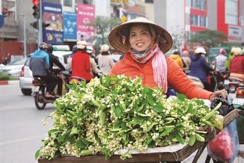 Vendeur de rue, la beaute culturelle de Hanoi hinh anh 1