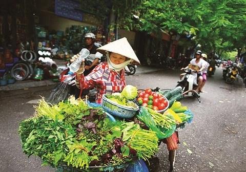 Vendeur de rue, la beaute culturelle de Hanoi hinh anh 2