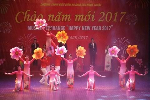 Hanoi: Un spectacle musical pour saluer le Nouvel An 2017 hinh anh 2