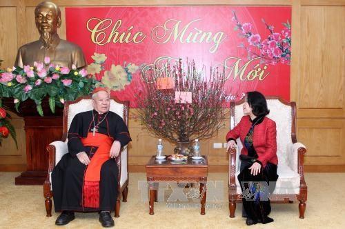 L'Archeveche de Hanoi se rend a la Commission de sensibilisation aupres des masses du Parti hinh anh 1