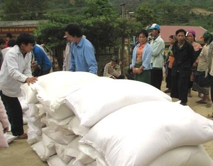 Tet lunaire 2017: plus de 1.100 tonnes de riz pour Gia Lai et Dak Lak hinh anh 1