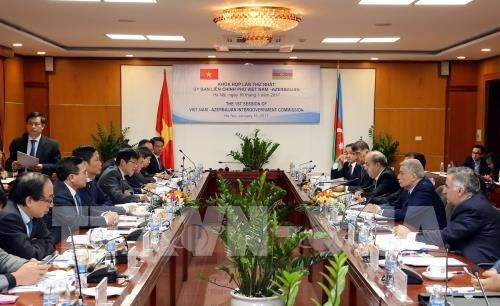 Premiere session du Comite intergouvernemental Vietnam-Azerbaidjan a Hanoi hinh anh 1