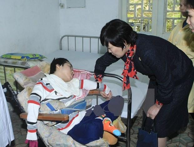 Le Japon souhaite aider les enfants defavorises et handicapes du Vietnam hinh anh 2