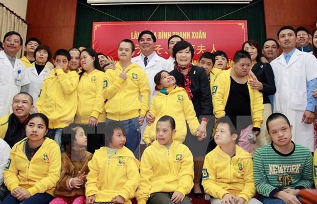 Le Japon souhaite aider les enfants defavorises et handicapes du Vietnam hinh anh 1