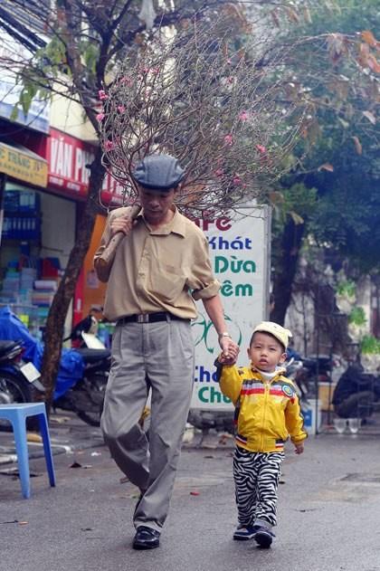 Les marches aux fleurs de Hanoi hinh anh 6
