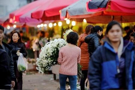 Les marches aux fleurs de Hanoi hinh anh 3