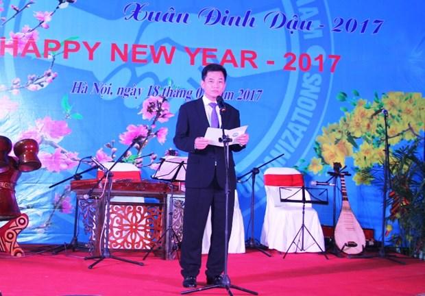 Hanoi : Rencontre des representants des ONG a l'occasion du Tet du Cop 2017 hinh anh 1