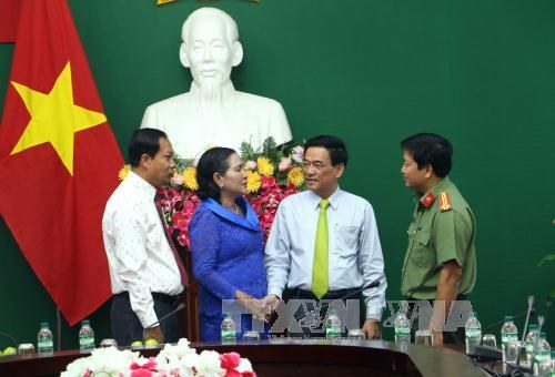 Vinh Long resserre sa cooperation avec la province cambodgienne de Kampong Speu hinh anh 1