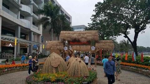 Des foires printanieres aux fleurs a Ho Chi Minh-Ville hinh anh 1