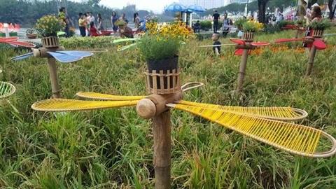 Des foires printanieres aux fleurs a Ho Chi Minh-Ville hinh anh 3