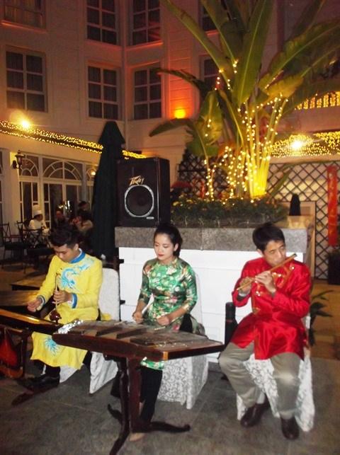 Le marche du Tet 2017 a l'hotel Sofitel Metropole de Hanoi hinh anh 1