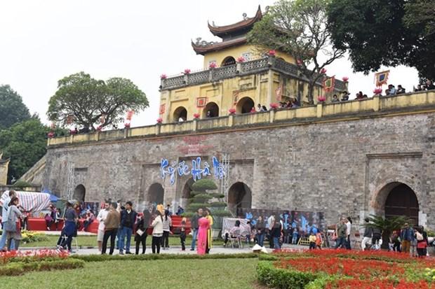 Cite imperiale de Thang Long: Une recente zone de fouille ouverte au public hinh anh 1