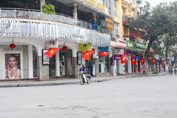 La capitale Hanoi au petit matin du Jour de l'An hinh anh 1