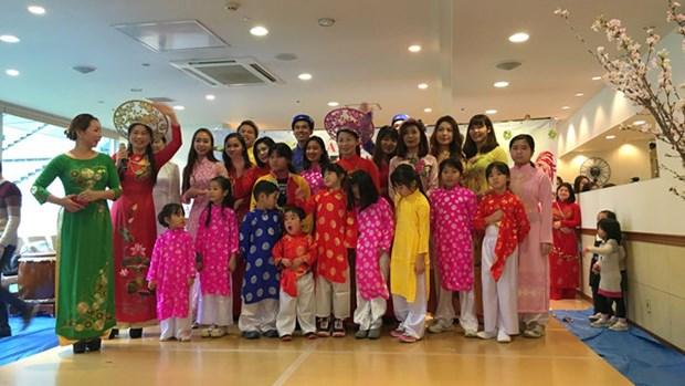 Au Japon, la communaute vietnamienne a Kobe celebre le Tet du Coq hinh anh 1