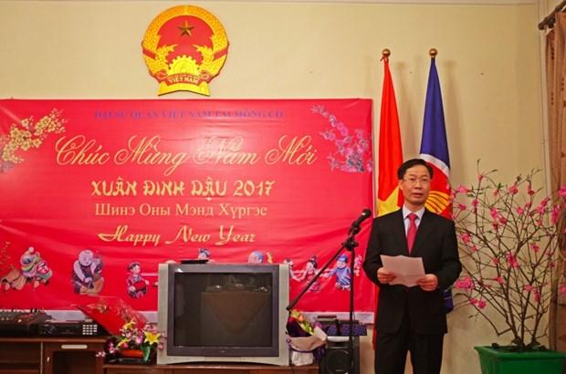 Les Vietnamiens de Thailande et de Mongolie fetent le Tet du Coq hinh anh 3
