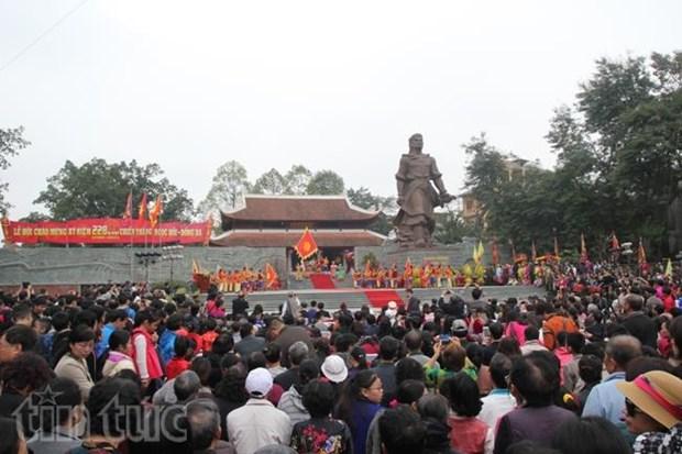 Commemoration de la victoire de Ngoc Hoi-Dong Da dans diverses localites du pays hinh anh 1