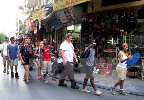 Le Vietnam accueille plus d'un million de touristes etrangers en janvier hinh anh 1